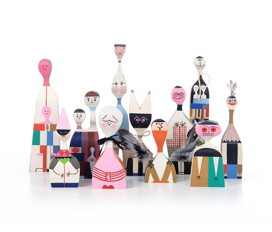 Wooden Dolls by Vitra | Objects