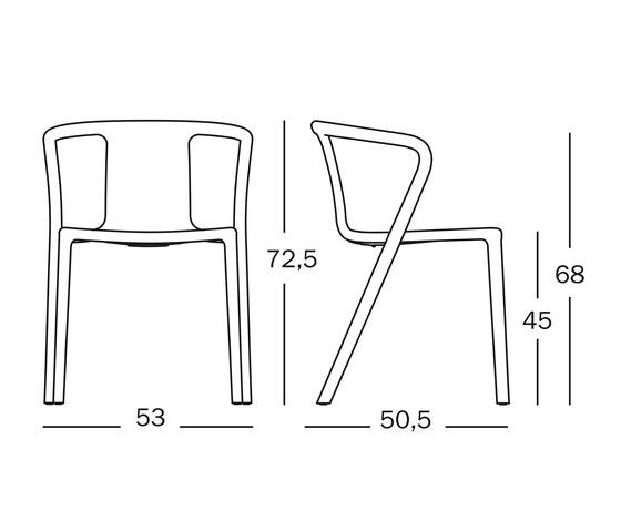Air-Armchair di Magis | Sedie multiuso
