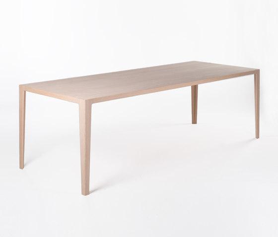 WOGG TIRA Alfredo Tisch von WOGG | Esstische