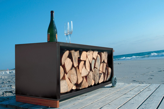 kaminholzwagen by Radius Design | Log holders