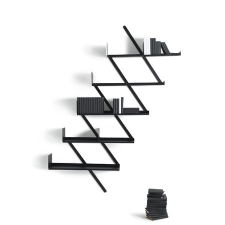 Booxx bookcase by Desalto | CD racks