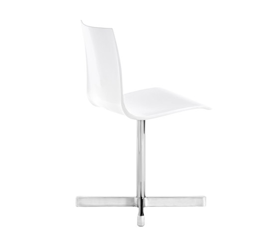 Wok swivelling chair by Desalto | Conference chairs