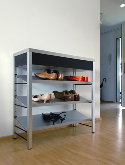 Schuhregal regale von cham leon design architonic for Schuhregal design