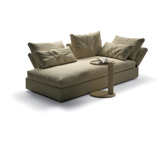 Sunny by flexform chaise longue product for Chaise longue flexform