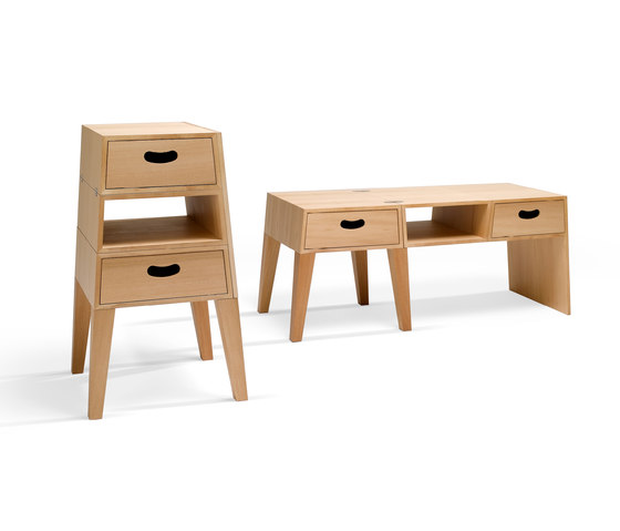 Table-Chest by Röthlisberger Kollektion | Side tables