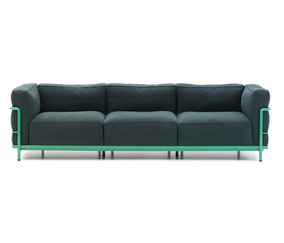 LC3 3-seater by Cassina | Lounge sofas