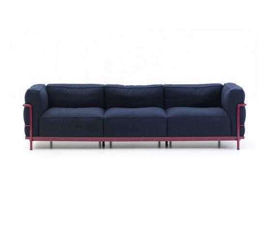 Divani sedute lc3 divano cassina le corbusier pierre - Meridienne le corbusier ...