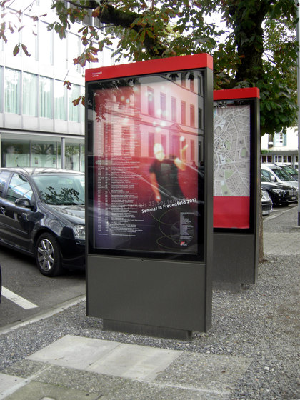City Lights - steles LED by BURRI | Advertising displays