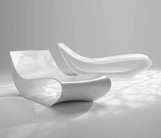 Sign chaise longue by MDF Italia | Sun loungers