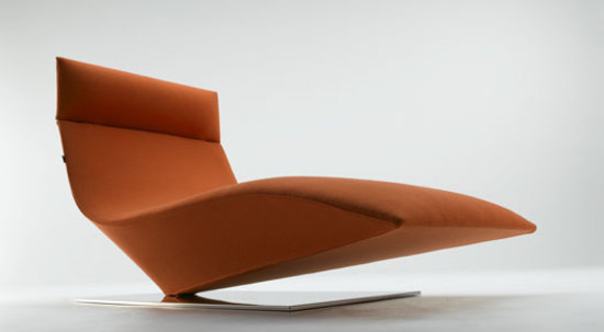 Lofty chaise longue* by MDF Italia | Chaise longues