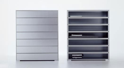 Newcase* by MDF Italia | Office shelving systems