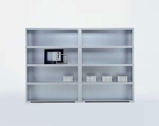 Newcase* by MDF Italia | Display cabinets