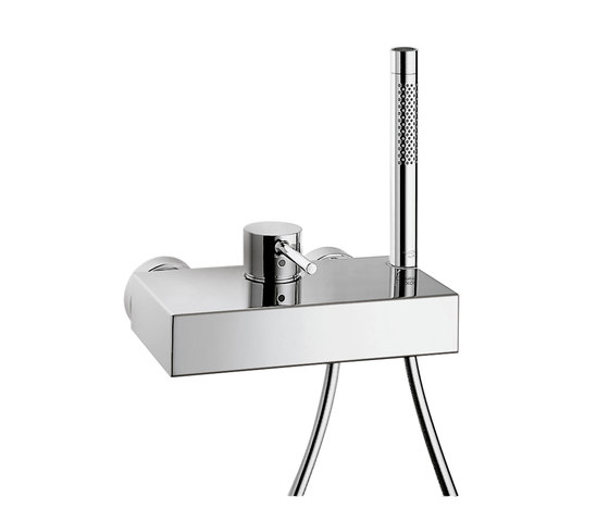 AXOR Starck X Single Lever Shower Mixer for exposed fitting DN15 by AXOR | Shower taps / mixers