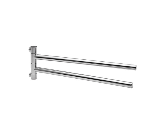 AXOR Starck Double Towel Holder by AXOR | Towel rails