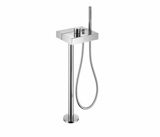 AXOR Starck X Free-standing Single Lever Bath Mixer by AXOR | Bath taps