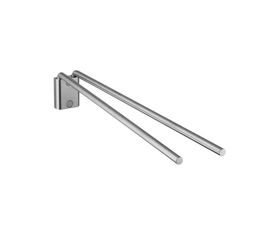 AXOR Steel Double Towel Holder by AXOR | Towel rails