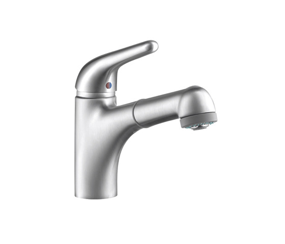 AXOR Steel Single Lever Kitchen Mixer by AXOR | Kitchen taps
