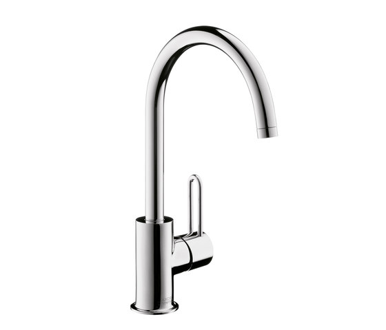 AXOR Uno Single Lever Basin Mixer with high swivel spout DN15 by AXOR | Wash-basin taps