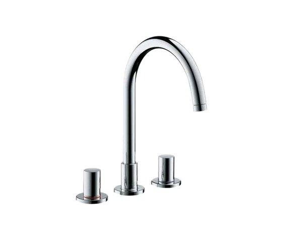 AXOR Uno² 3-Hole Basin Mixer by AXOR | Wash-basin taps