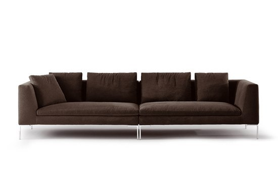 charles ch156s ch156d lounge sofas from b b italia architonic. Black Bedroom Furniture Sets. Home Design Ideas