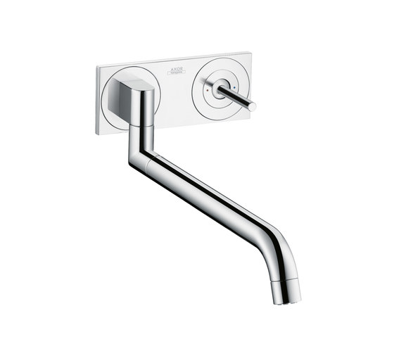 AXOR Uno Single Lever Kitchen Mixer for concealed installation by AXOR | Kitchen taps