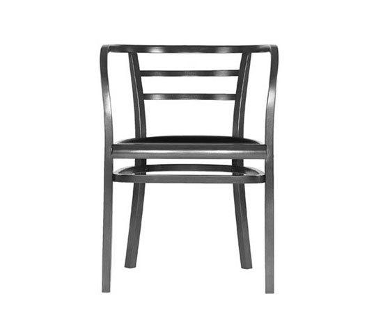Postsparkasse Armlehnstuhl von WIENER GTV DESIGN | Stühle