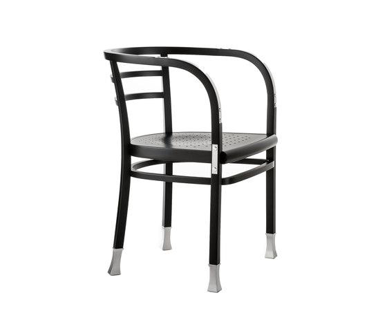 Postsparkasse Armchair by WIENER GTV DESIGN | Restaurant chairs