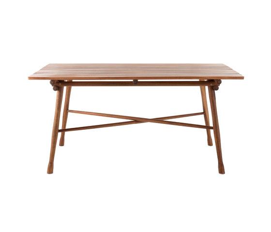 Garden table de WIENER GTV DESIGN | Mesas de comedor de jardín