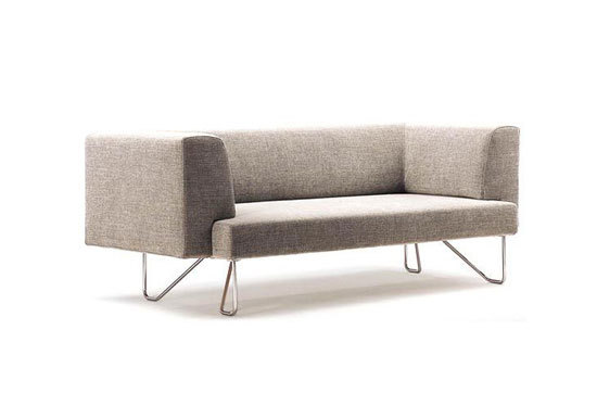 Zoom two-seat sofa by WIENER GTV DESIGN | Sofas