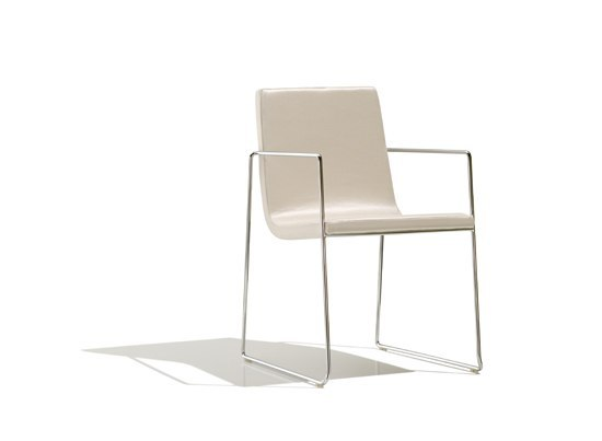 Lineal Comfort SO 0595 by Andreu World | Visitors chairs / Side chairs