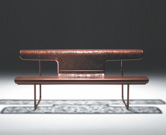 El Poeta Bench by BD Barcelona | Tables and benches