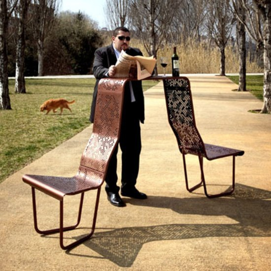 El Banquero by BD Barcelona | Exterior chairs