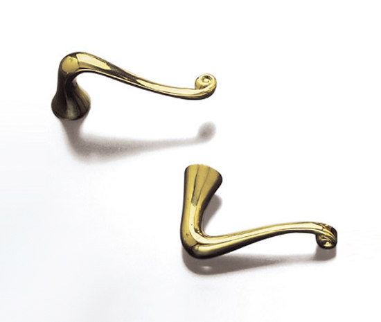 Gaudi Door Knobs by BD Barcelona | Lever handles