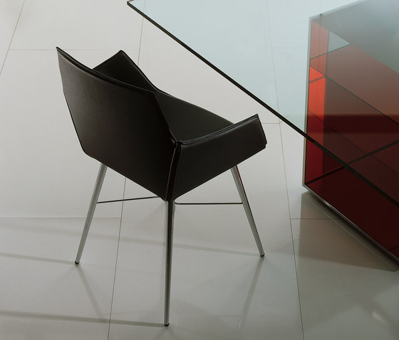 Seltz by Acerbis | Visitors chairs / Side chairs