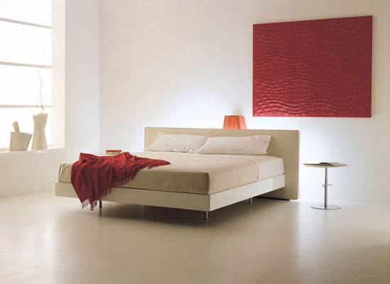 Lys 84 bed by Acerbis | Double beds