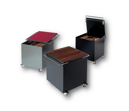 Wood box by Tonwerk Lausen AG | Log holders