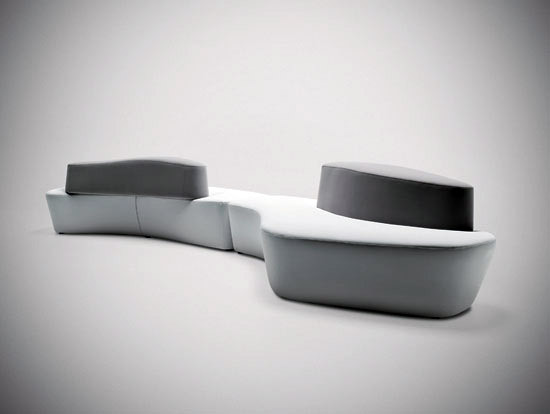 Polar by Tacchini Italia | Modular seating systems