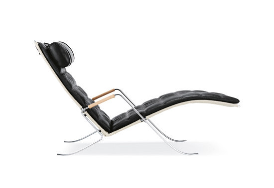 FK 87 Grasshopper chair by Lange Production | Chaise longues
