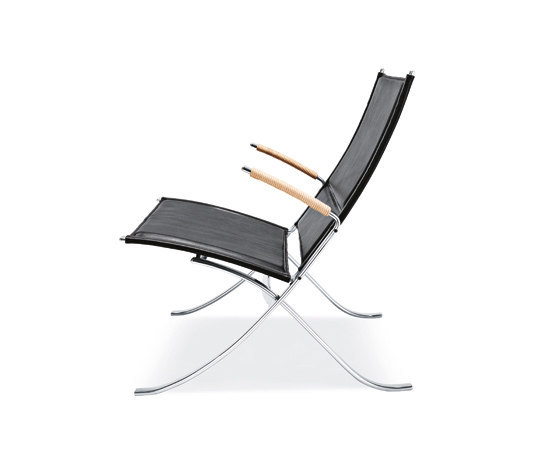 FK 82 X-Chair von Lange Production | Loungesessel