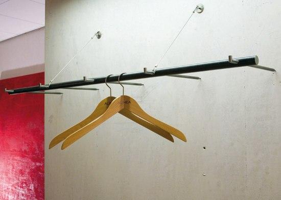 Garderobe 0286 von atelier alinea produkt for Garderobe seil