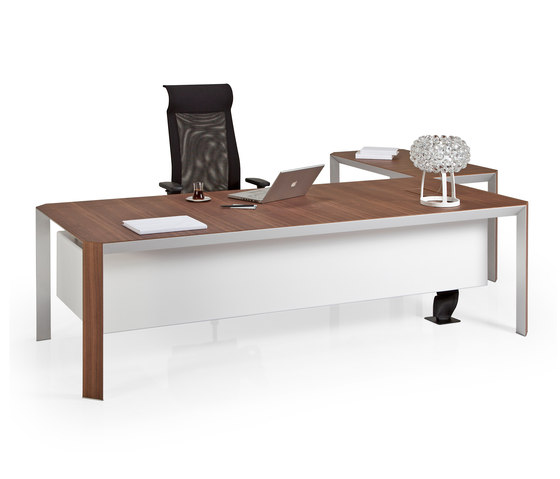 Quo Vadis Executive Desk System de Koleksiyon Furniture   Bureaux