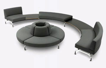 Intercity by Tacchini Italia | Seating islands