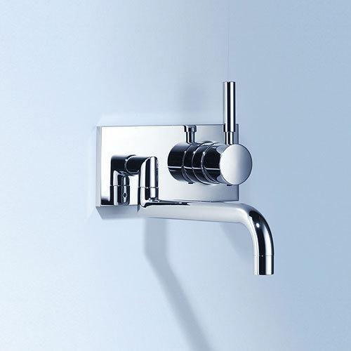 Meta.02 - Wall-mounted mixer by Dornbracht | Kitchen taps
