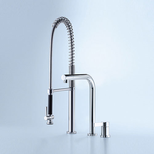 Elio - Two-hole mixer by Dornbracht | Kitchen taps