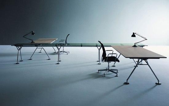 Nomos di Tecno | Sistemi tavolo