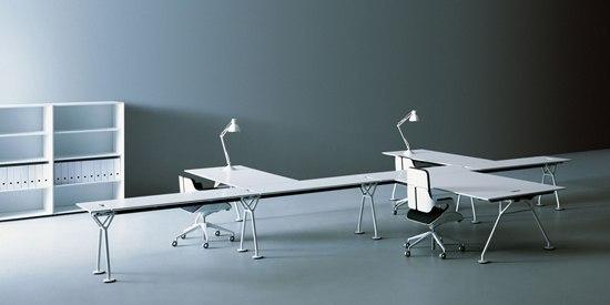 Nomos von Tecno | Tischsysteme