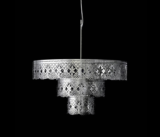Gladys Chandelier stainless steel by Bsweden | General lighting