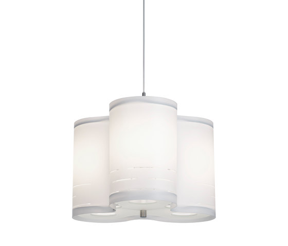 Clover 40 pendant white by Bsweden | General lighting