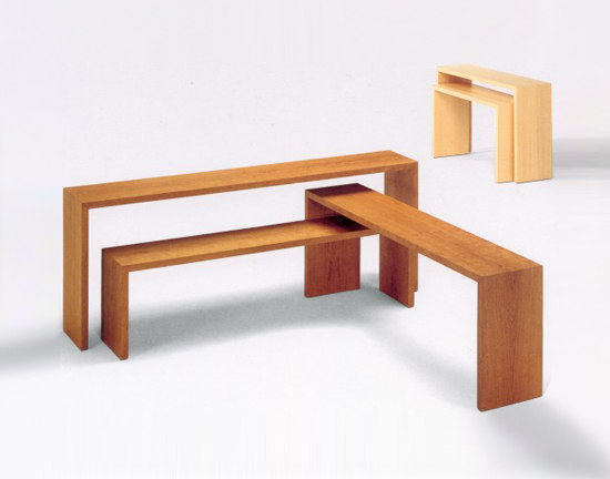 Dormusa servente by Woodesign | Console tables