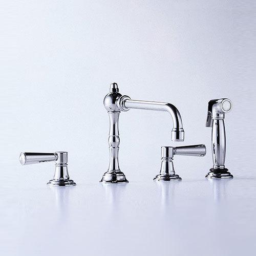 Madison - Three-hole sink mixer by Dornbracht | Kitchen taps
